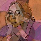 Portrait Kaethe Kollwitz  by Michele Meister