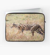 Serval Cat, Female, Serengeti, Tanzania  Laptop Sleeve