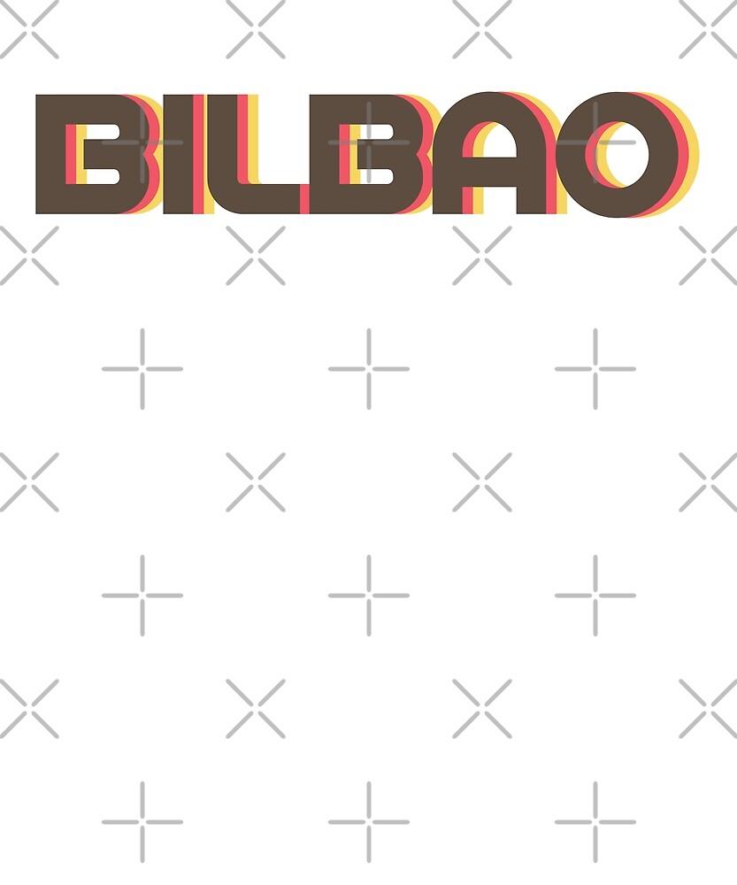 Retro Bilbao T-Shirt by designkitsch