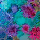 Abstract Flowers #2 by hidden-design