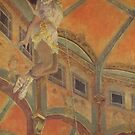 Edgar Degas French Impressionism Oil Painting Acrobat Miss La La by jnniepce