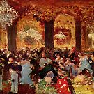 Edgar Degas French Impressionism Oil Painting Aristocrat Party  by jnniepce