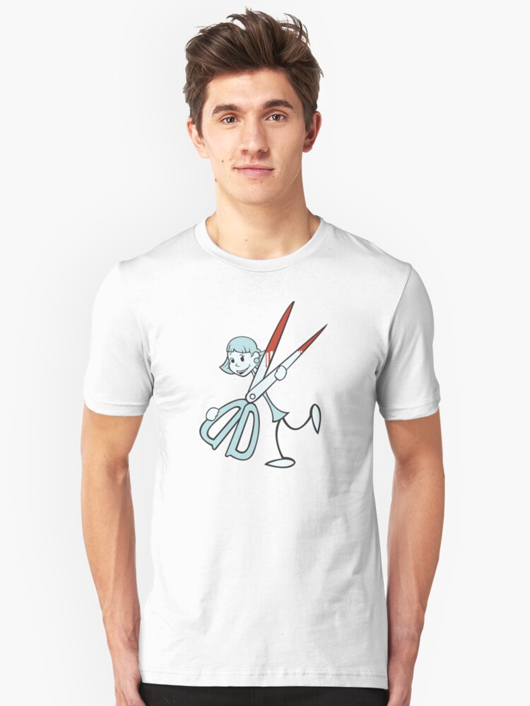 Running With Scissors Unisex T-Shirt Front