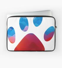Colorful Animal Footsteps - CAF01COL01 Laptop Sleeve