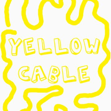 yellow cable by Frax