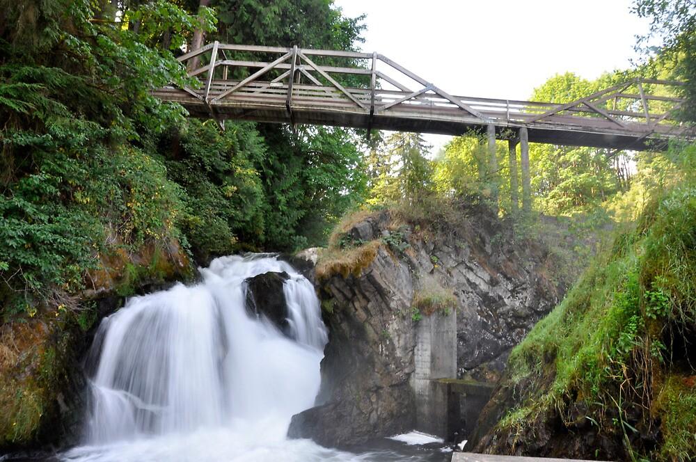 Lower Tumwater Falls by DiamondCactus