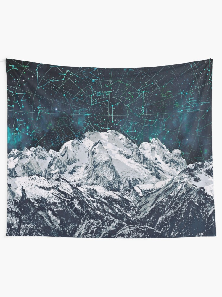 Alternate view of Constellations over the Mountain Tapestry