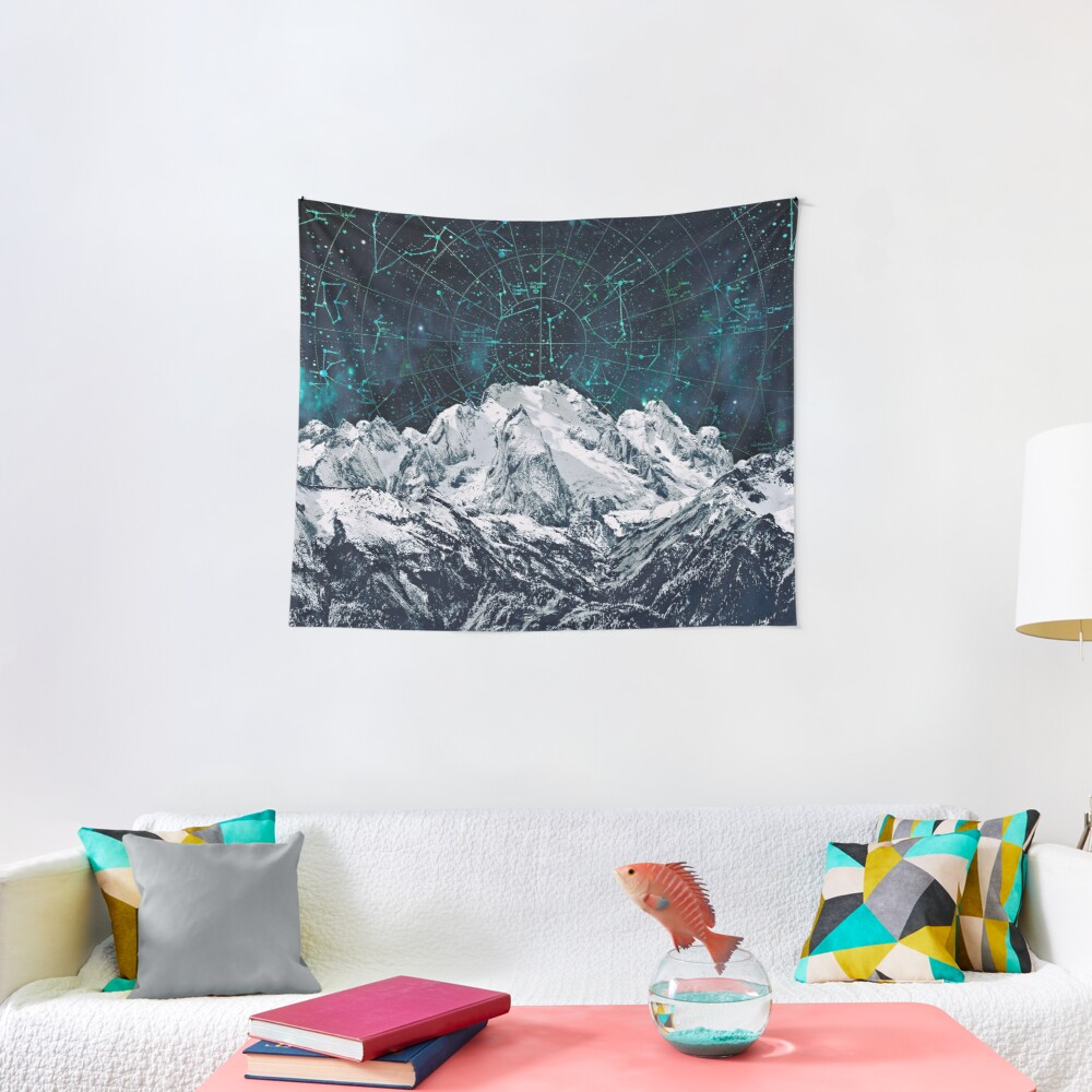 Constellations over the Mountain Tapestry