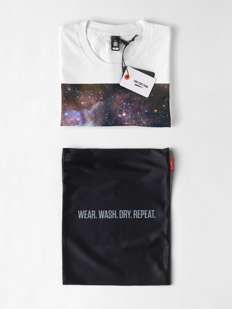 Alternate view of Galaxy Gas Cloud Premium T-Shirt