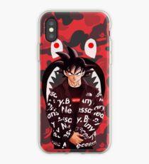bape shark goku iPhone Case