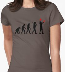 Boxing Champion Evolution Womens Fitted T-Shirt