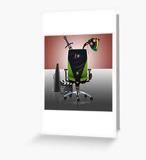 David Boreanaz: Director's Chair Greeting Card