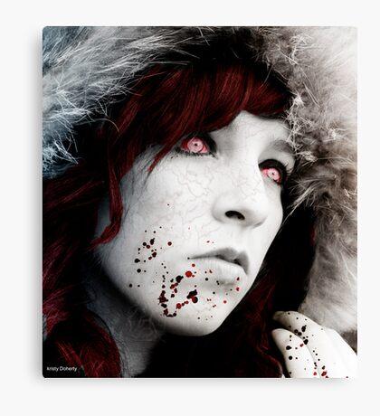 cold as death Canvas Print