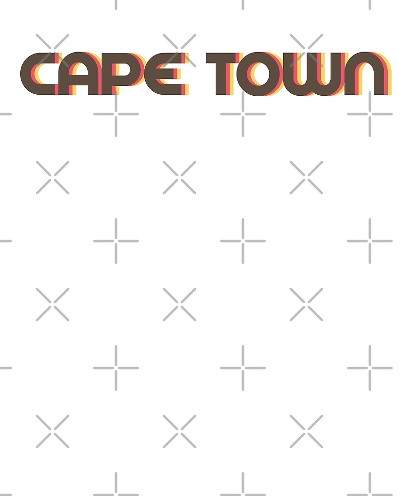 Retro Cape Town T-Shirt by designkitsch