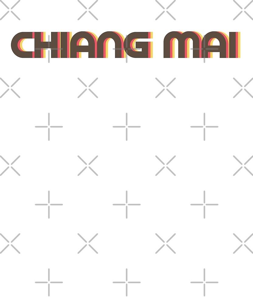 Retro Chiang Mai T-Shirt by designkitsch