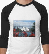 Sydney Icons Men's Baseball ¾ T-Shirt