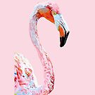 Flamingo No.3 Pink iPhone Case by christinahewson