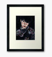 Yoongi Framed Print
