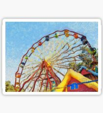 Ferris Wheel Sticker
