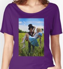 The Mad Hatter's Fantasy  Women's Relaxed Fit T-Shirt