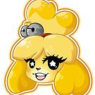 Isabelle Yellow Dog by PandaDough