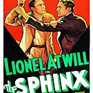Vintage Hollywood Nostalgia The Sphinx Film Movie Advertisement Poster by jnniepce