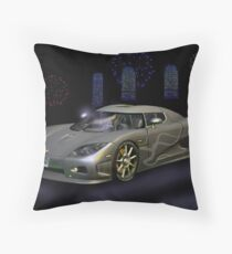 Koenigsegg Throw Pillow