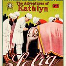 Vintage Hollywood Nostalgia The Adventures of Kathlyn Film Movie Advertisement Poster by jnniepce