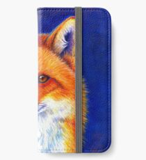 Colorful Red Fox Portrait iPhone Wallet/Case/Skin