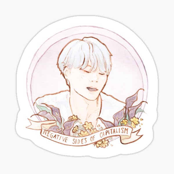 Four Yoongles of the Apocalypse | Famine Sticker