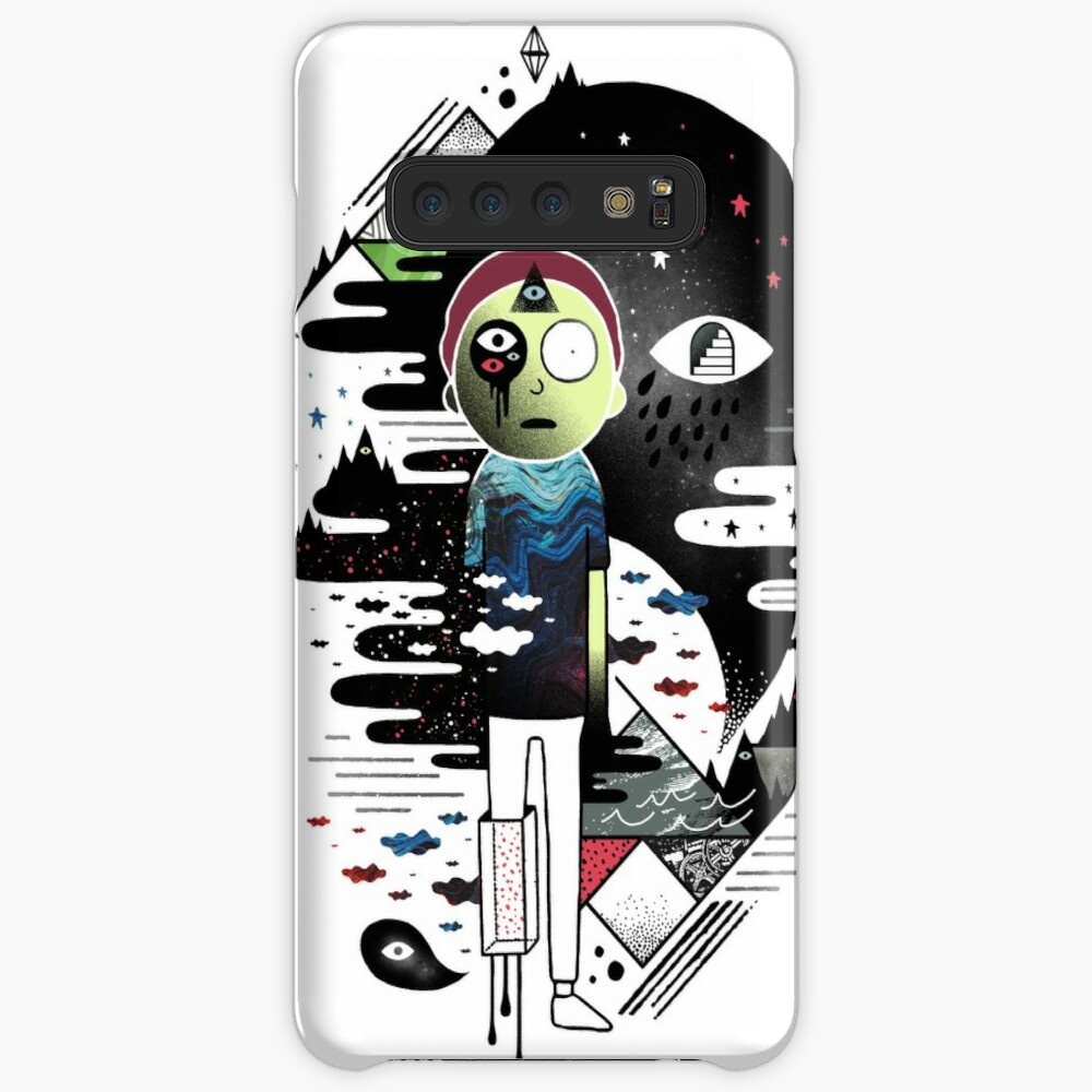 Inner Dimensional Morty Case & Skin for Samsung Galaxy