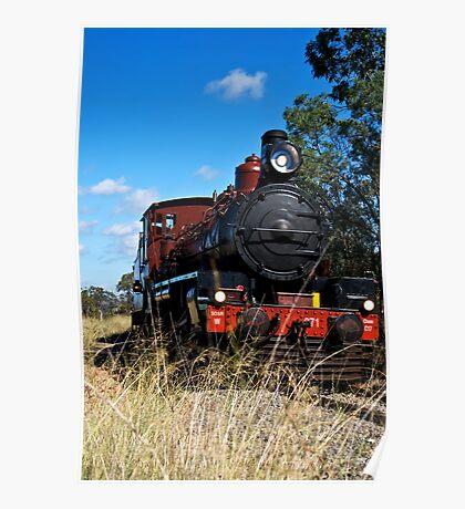 Restored C17 Locomotive Poster