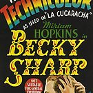 Vintage Hollywood Nostalgia Becky Sharp Film Movie Advertisement Poster by jnniepce