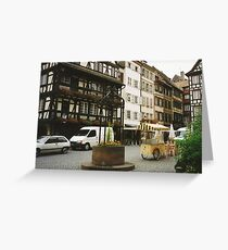 Strasbourg, Alsace Greeting Card