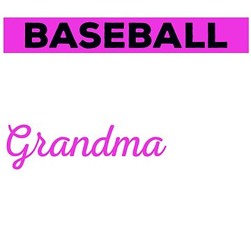 Baseball Grandparent Shirt, Baseball Grandma, Baseball Grandma Tshirt, Baseball Tshirt For Grandmas, Baseball Tshirt, Baseball Shirt by mikevdv2001