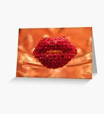 Hot Lips! Greeting Card