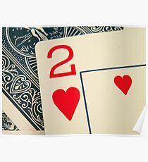 2 Hearts Poster