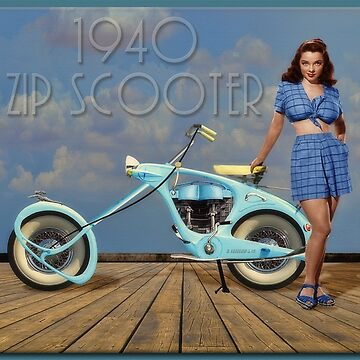 1940 Zip Scooter by rgerhard