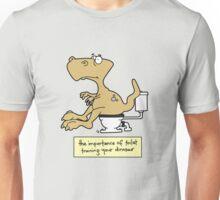 Train your dinosaur. Unisex T-Shirt