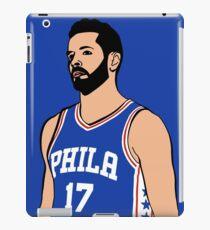 JJ Redick - Philadelphia Seventy Sixers iPad-Hülle & Klebefolie