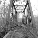 Old Railroad bridge in Hopewell Township, Perry County, Ohio by Chad Wilkins