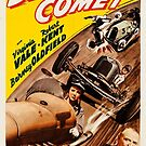Vintage Hollywood Nostalgia Blonde Comet Film Movie Advertisement Poster by jnniepce