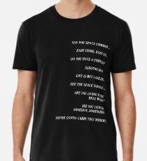 Cowboy Bebop Closing Titel Premium T-Shirt