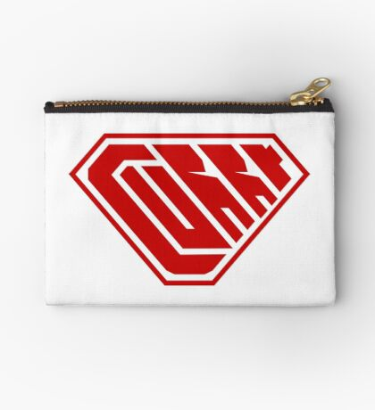 Curry SuperEmpowered (Red) Zipper Pouch