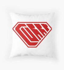 Curry SuperEmpowered (Red) Throw Pillow
