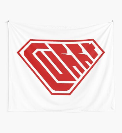 Curry SuperEmpowered (Red) Wall Tapestry