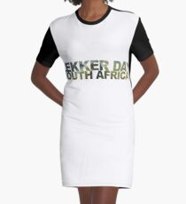 lekker day south africa Graphic T-Shirt Dress