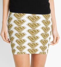 Care SuperEmpowered (Gold) Mini Skirt