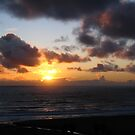 Santa Monica Sunset by Gloria Abbey