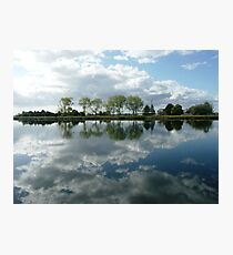 Reflections in the Macleay River, Kempsey, N.S.W. Photographic Print